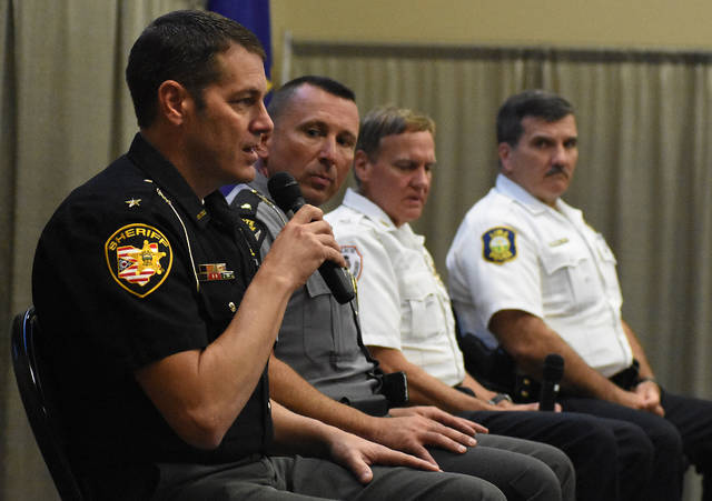 Lima Rotary hosts law enforcement roundtable